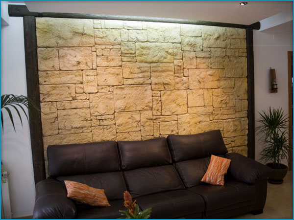 Pared Piedra Artificial Pictures to pin on Pinterest